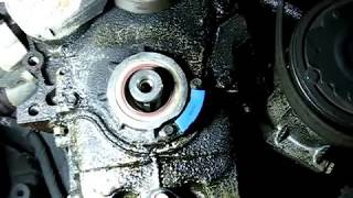 getlinkyoutube.com-Front Crankshaft Oil Seal Replacement