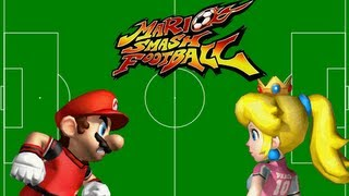 Super Mario Strikers - Mario vs  Peach
