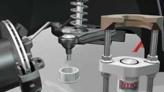 getlinkyoutube.com-Nike Ball Joint  Extractor. Mercedes Sprinter. Volkswagen LT35