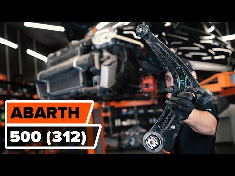 Как заменить передний рычаг подвески FIAT 500 ABARTH (312) [ВИДЕОУРОК AUTODOC]