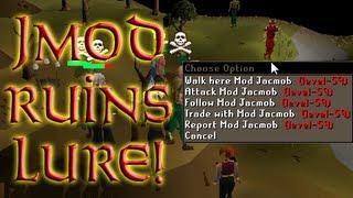 getlinkyoutube.com-2007Scape - Jagex Mod Crashing A Lure?!