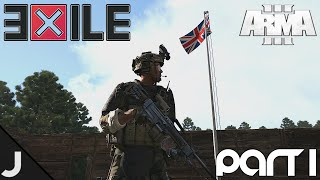 getlinkyoutube.com-ArmA 3: Exile - Part 1 - Building a Base!