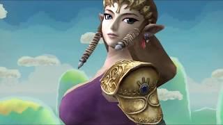 getlinkyoutube.com-Super Smash Bros THE BOOBS MOD! Huge Improvements? Zelda, Peach & Samus!
