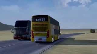 getlinkyoutube.com-Euro Truck Simulator 2 Bus trip to Rabat with Busscar Panoramico DD part4