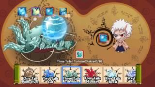 getlinkyoutube.com-Ninja Heroes S9: Try to gett SS skill of Tail beasts