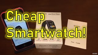 U80 SmartWatch for iPhone + Bad App!