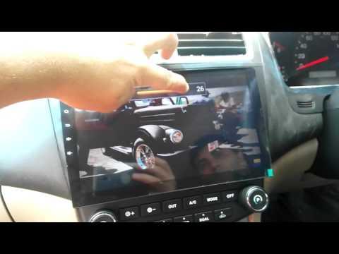 Штатная мультимедийная система для Хонда Аккорд г.