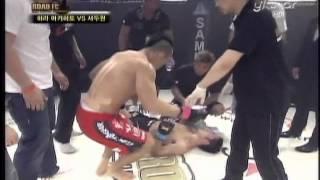 getlinkyoutube.com-ROAD FC 001: Seo Doo won vs Hara Akihito