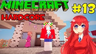 getlinkyoutube.com-Minecraft Hardcore มุ้งมิ้ง # 13 สร้างบ้านให้ NPC