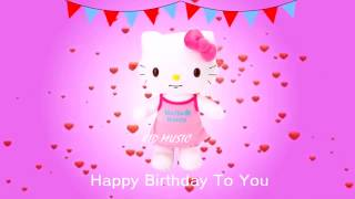 getlinkyoutube.com-Hello Kitty Song | Happy Birthday Song Nursery Rhymes Kids Songs And Baby Song