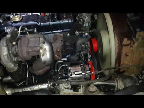 """Foton -1039 ISUZU-4JB1T Euro-3 """"безкат"""" (первый запуск мотора после капитального ремонта)"""
