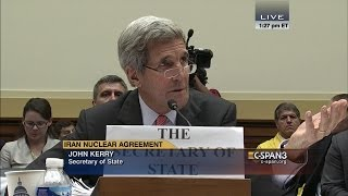 """getlinkyoutube.com-John Kerry: """"Congressman, I don't need any lessons from you about who I represent."""" (C-SPAN)"""