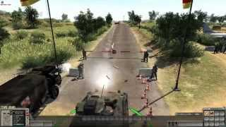 getlinkyoutube.com-Men of War - Zombie Mod Bundeswehr Defence Line