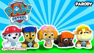 "getlinkyoutube.com-PAW PATROL Toy Unboxing ""New Paw Patrol Bath Squirters"" + Paw Patrol Action Figures"