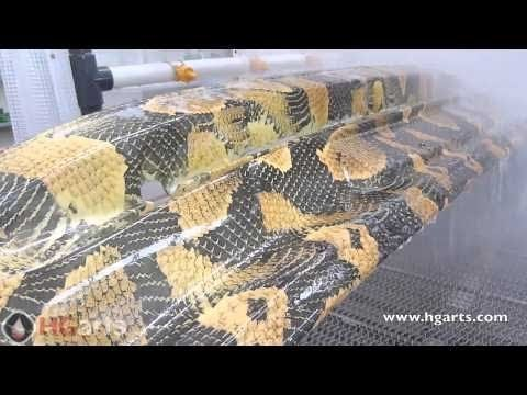 Water Transfer Printing Process - Hydrographics - Wassertransferdruck Automotive.Industry