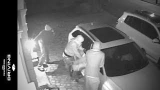 getlinkyoutube.com-Caught on CCTV: thieves steal Audi RS4
