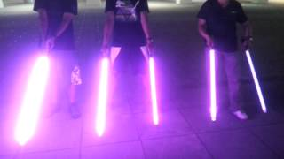Download video world 39 s brightest lightsaber for Hampton s hand crafted led sabers