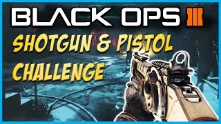 "getlinkyoutube.com-Black Ops 3 ""The Giant"" Zombies Shotgun & Pistol Challenge! - BO3 Zombies Challenges!"