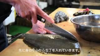 getlinkyoutube.com-お魚屋さんの魚のさばき方‐ヒラメ編