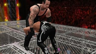 getlinkyoutube.com-WWE 2K16 - The Undertaker vs Sting (EPIC Hell In A Cell MATCH!) 1080p HD