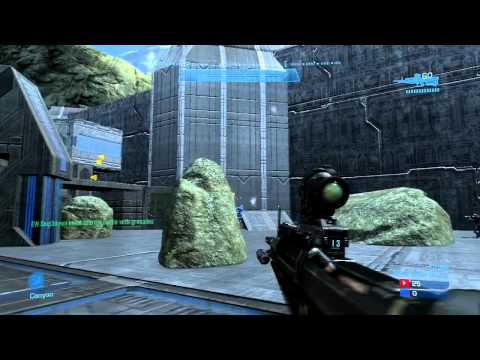 Ghostayame (An MLG Pro) - Halo: Reach 50-0 Win Gameplay (Sanctuary Slayer)