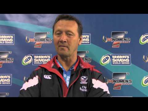 USA Women's Sevens vs Argentina - Houston Sevens - Ric Suggit post game reactions