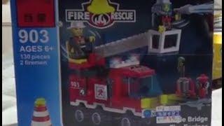 getlinkyoutube.com-enlighten 레고 소방차와 소방관 중국 호환 장난감 제품 구입 조립기