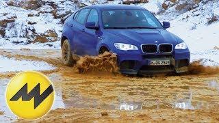 getlinkyoutube.com-BMW X6 M - Offroad
