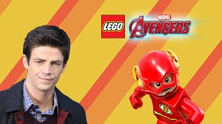 getlinkyoutube.com-LEGO® MARVEL's Avengers Custom Character Creation Ep 1 Barry Allen (The Flash CW)