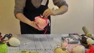 getlinkyoutube.com-Объемное полое сердце. Технология изготовления