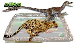 getlinkyoutube.com-DINO DAN : DINO DUELS  # 12 Velociraptor VS. Cheetah