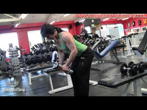 "Ellena Tsatsos ""In The Dungeon"" Training Delts (Part 2 of 2)"