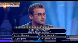 Kim Milyoner Olmak Ister 226 bölüm Oğuz Tarihmen 28.05.2013