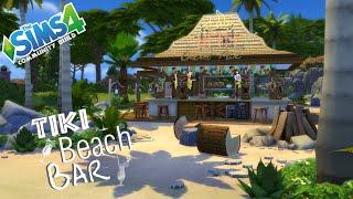 getlinkyoutube.com-The Sims 4 - Community Build - Tiki Beach Bar