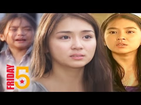 FRIDAY 5: Kathryn Bernardo 'The Teen Queen of Drama'