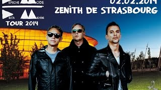 getlinkyoutube.com-Depeche Mode - Deltamachine Tour FULL SHOW Strasbourg 02.02.2014