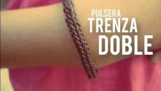 getlinkyoutube.com-Pulsera: Trenza doble