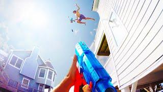 getlinkyoutube.com-Nerf War: First Person Shooter 6