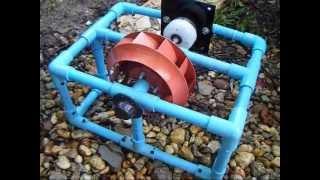 getlinkyoutube.com-กังหันน้ำปั่นไฟขนาดเล็กๆๆๆๆ