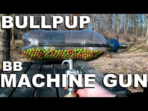 How to Make an Airsoft Machine Gun from a Soda Bottle