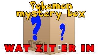 Pokemon Mystery Box! Wat zit er in!