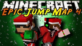 Minecraft: Epic Jump Map Christmas Part 3!