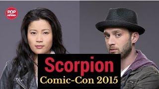 SDCC 2015: conversa com Eddie Thomas e Jadyn Wong de Scorpion