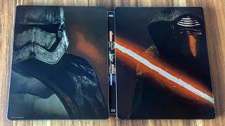 getlinkyoutube.com-STAR WARS 7: Das Erwachen der Macht - Steelbook Blu-ray Limited Edition Unboxing
