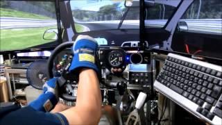 getlinkyoutube.com-rFactor2 Porsche 997 GT3 Ring Tourist Test Drive