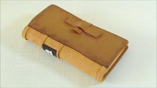 getlinkyoutube.com-Funda para móvil en forma de libro hecha con goma eva. Manualidades con goma eva