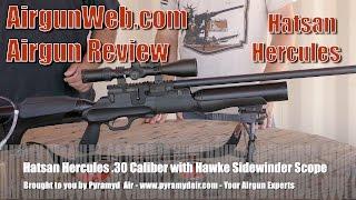 getlinkyoutube.com-Hatsan Hercules .30 cal Airgun Review - Shot count + Accuracy + Energy = Amazing Airgun