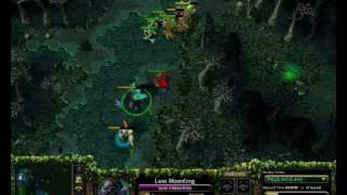 Pit plays DotA with Moon Rider (1/4) view on youtube.com tube online.