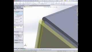 getlinkyoutube.com-SolidWorks. Konwersja na arkusz blachy.