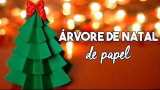 getlinkyoutube.com-DIY Natal :: Como fazer árvore de natal de papel - Projeto Natal DIY